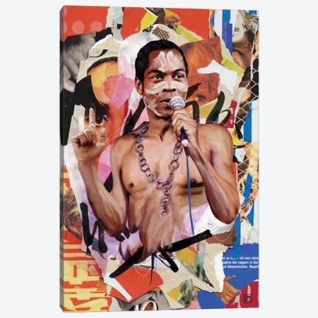 Fela Kuti Canvas Print #TLL12} by TOMADEE Canvas Wall Art