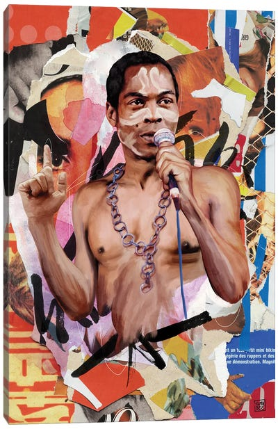 Fela Kuti Canvas Art Print