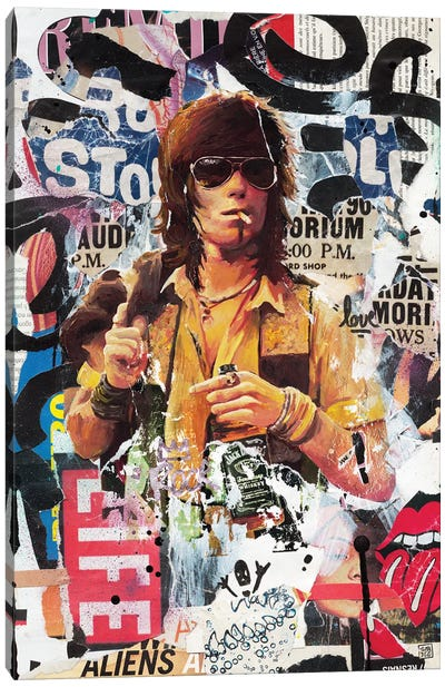 Keith I Canvas Art Print