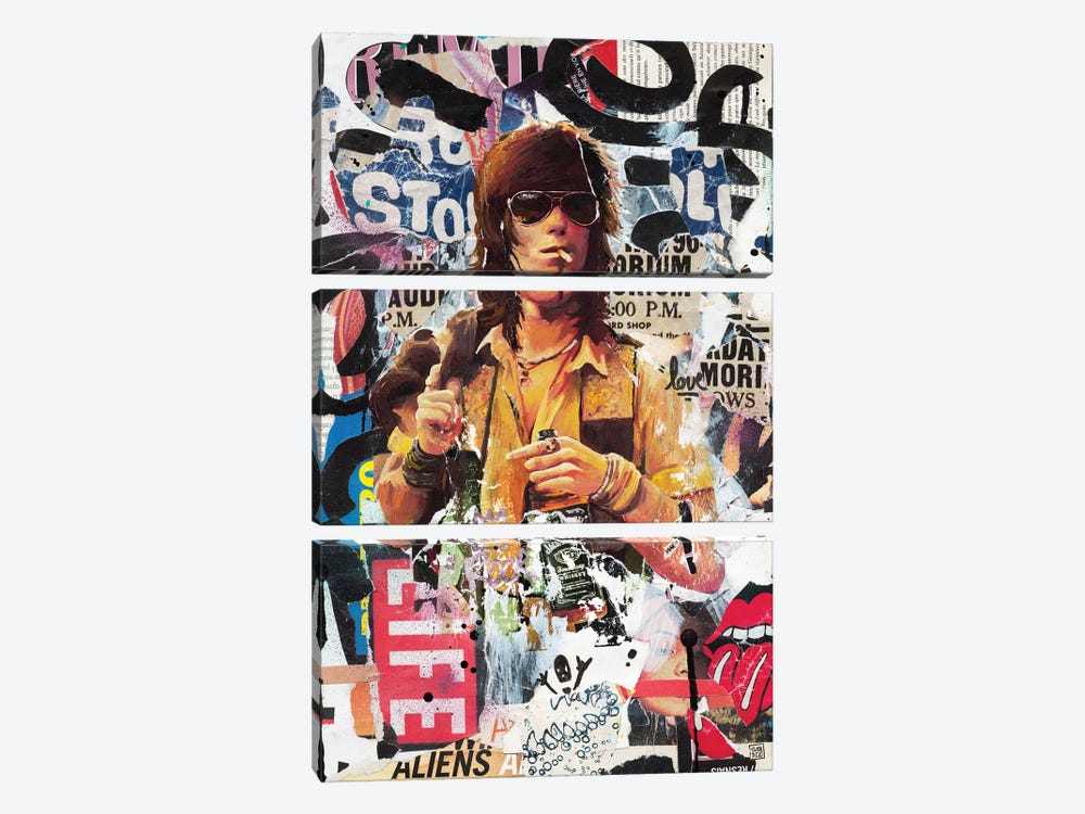 Keith I by TOMADEE 3-piece Canvas Wall Art