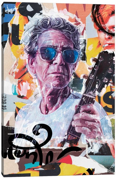 Lou Reed Canvas Art Print