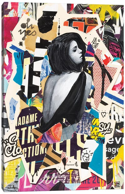 Madame Canvas Art Print