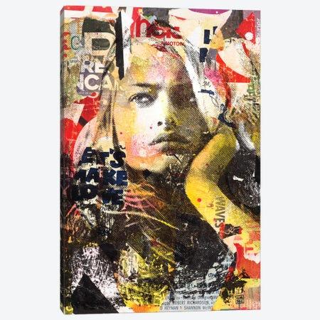Thylane Canvas Print #TLL23} by TOMADEE Art Print