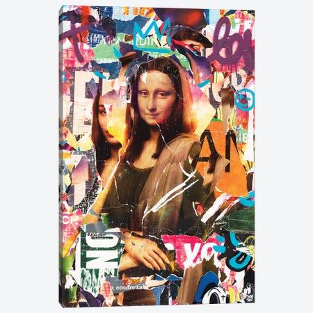 Mon@ Lis@ Canvas Print #TLL28} by TOMADEE Canvas Print