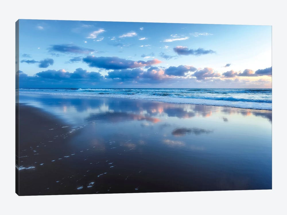 Blue Shores by Tracie Louise 1-piece Canvas Wall Art