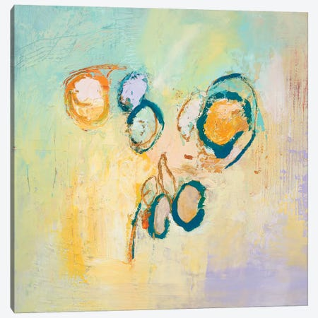Sky Circles Canvas Print #TLP4} by Tracy Lynn Pristas Art Print