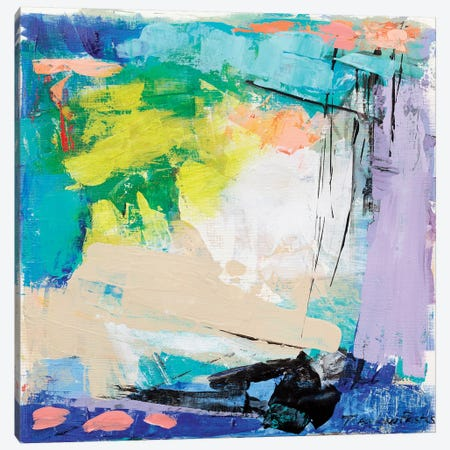 Violet Vigor I 3-Piece Canvas #TLP5} by Tracy Lynn Pristas Art Print