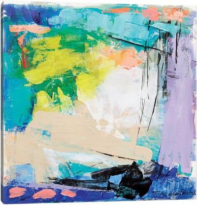 Violet Vigor I Canvas Art Print