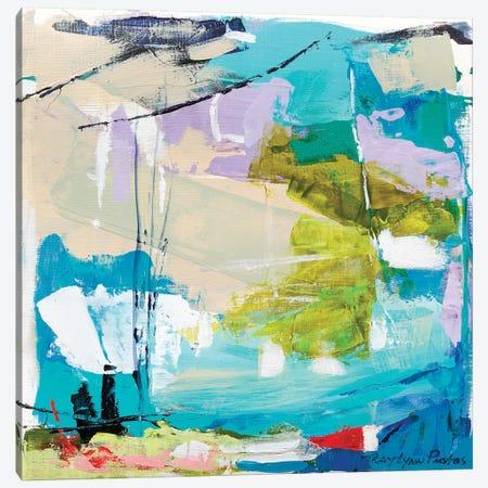 Violet Vigor II Canvas Print #TLP6} by Tracy Lynn Pristas Canvas Print