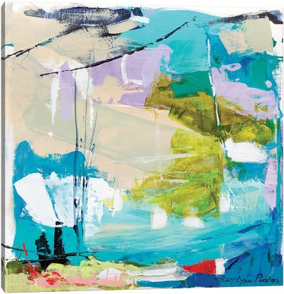 Violet Vigor II Canvas Print #TLP6
