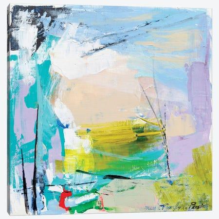 Violet Vigor III Canvas Print #TLP7} by Tracy Lynn Pristas Canvas Art Print