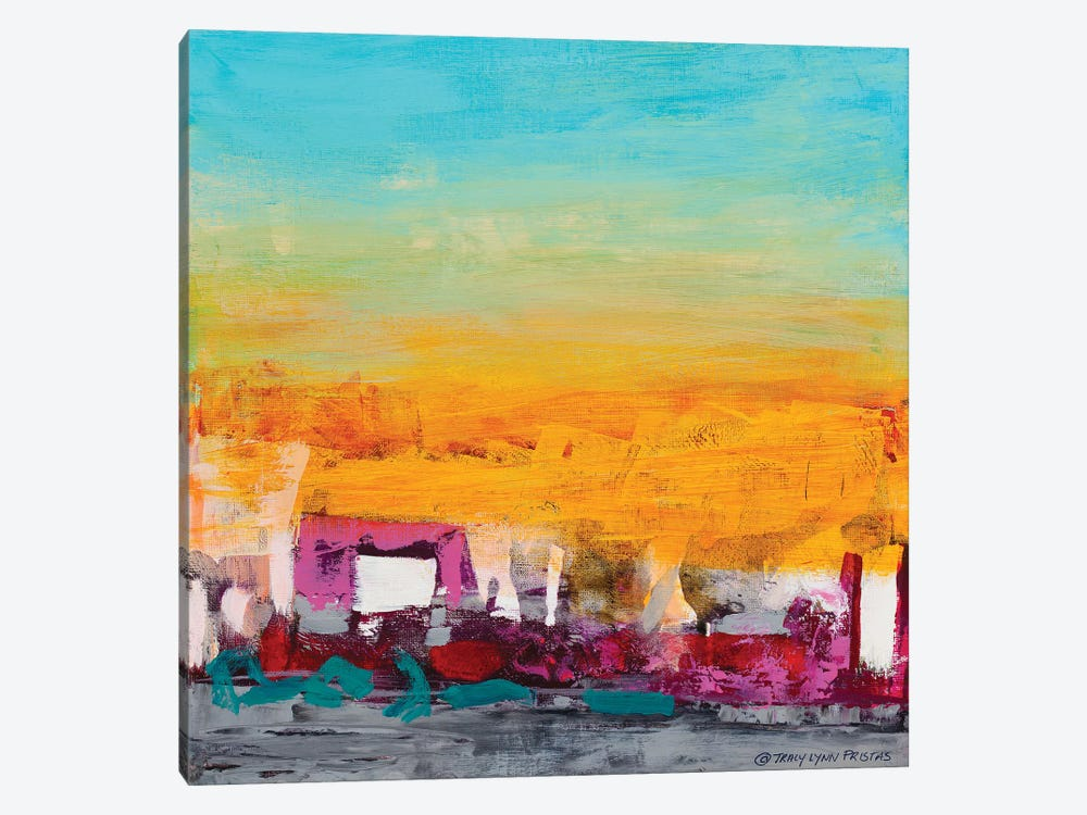 Whispered Wanderlust I by Tracy Lynn Pristas 1-piece Canvas Print