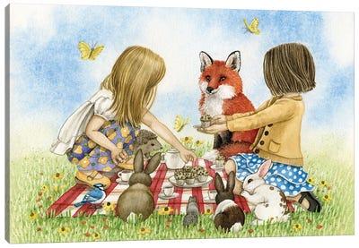 Tea Party Canvas Art Print