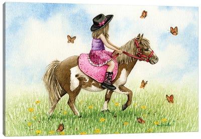 Pony Ride Canvas Art Print