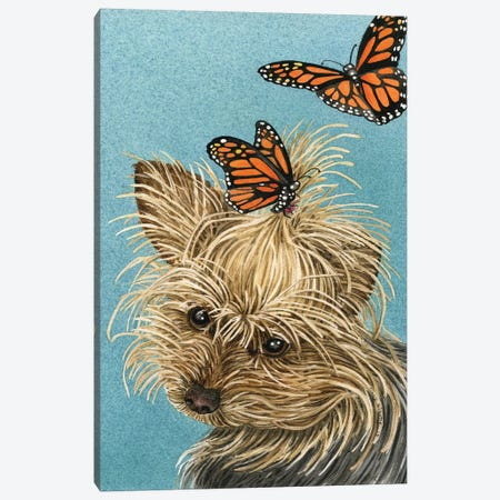 Butterfly Accessories Canvas Print #TLZ15} by Tracy Lizotte Canvas Print