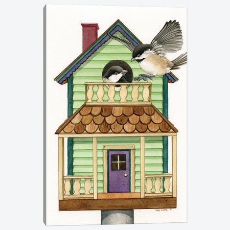 Cottage Living Canvas Print #TLZ23} by Tracy Lizotte Canvas Print