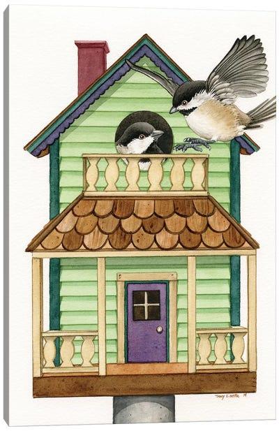 Cottage Living Canvas Art Print