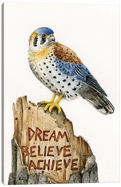 Dream Believe Achieve Canvas Art Print