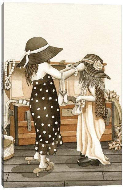 Dress Up Canvas Art Print
