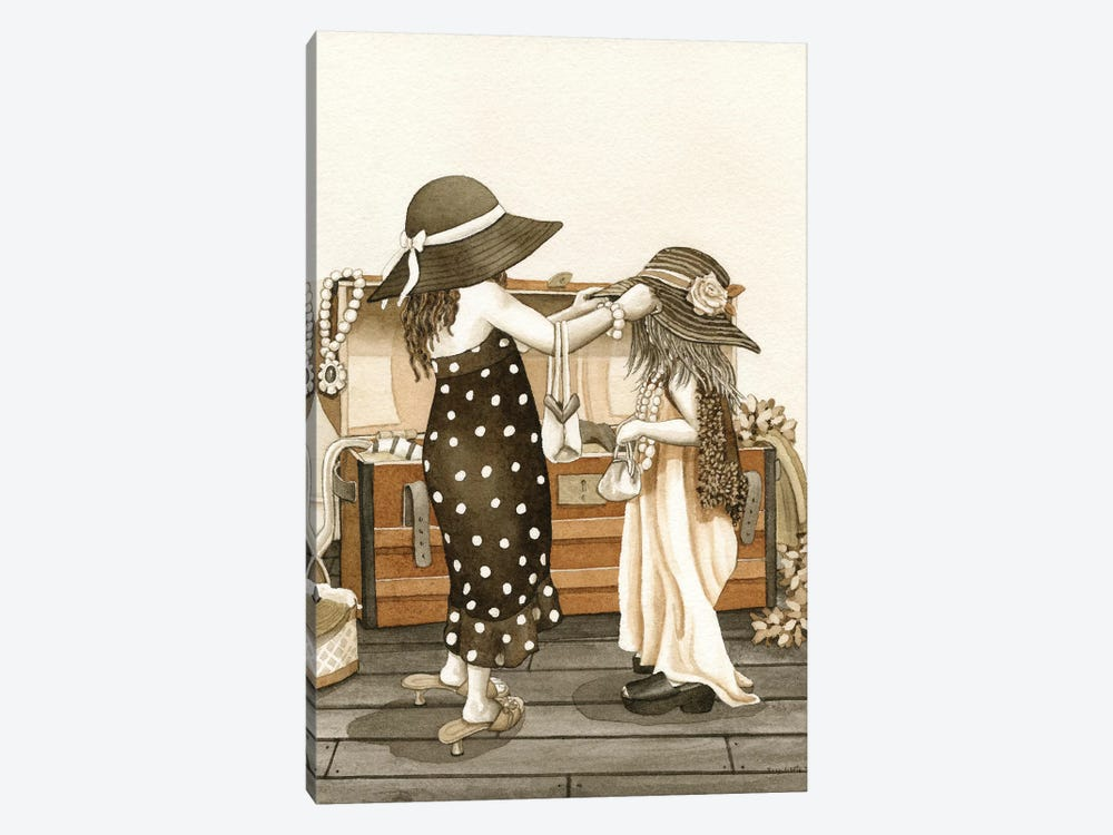 Dress Up by Tracy Lizotte 1-piece Canvas Print