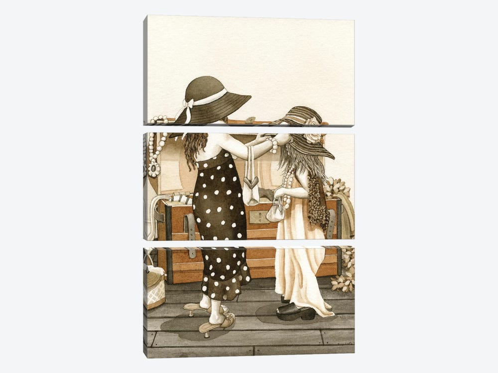 Dress Up by Tracy Lizotte 3-piece Art Print