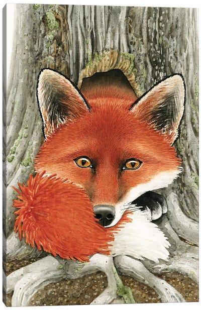 Fox Hole Canvas Art Print