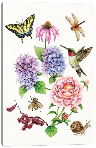 Garden Collection Canvas Art Print