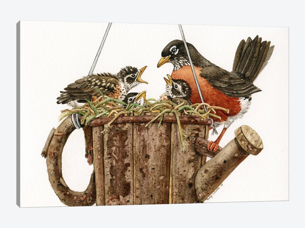 Garden Living by Tracy Lizotte 1-piece Canvas Print