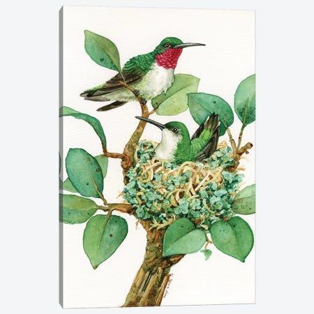 Green Living Canvas Print #TLZ42} by Tracy Lizotte Art Print