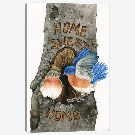 Home Sweet Home Canvas Print #TLZ43} by Tracy Lizotte Canvas Art Print