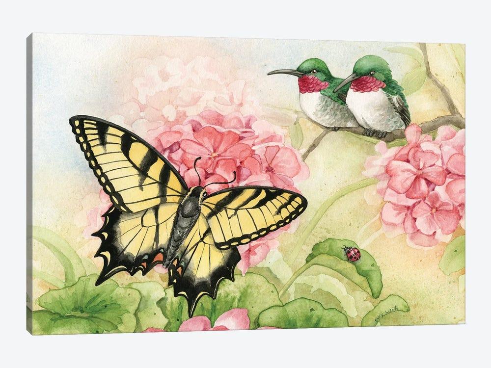 Humingbird Garden I by Tracy Lizotte 1-piece Canvas Wall Art