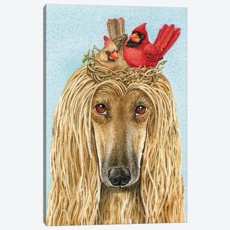 Bird Nest Hairdo Canvas Print #TLZ4} by Tracy Lizotte Art Print