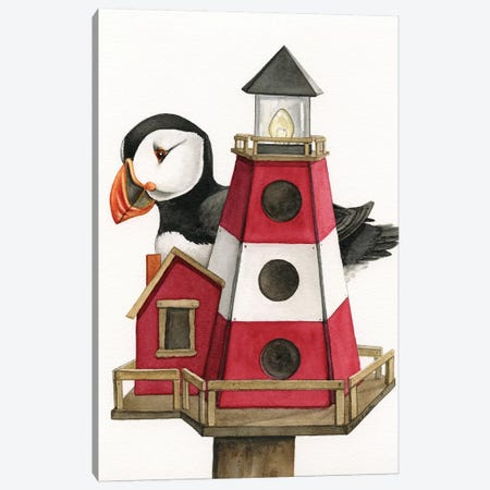 Lighthouse Living Canvas Print #TLZ52} by Tracy Lizotte Canvas Art