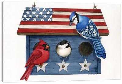 Patriotic Living Canvas Art Print