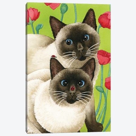 Seeing Two Canvas Print #TLZ68} by Tracy Lizotte Canvas Art Print