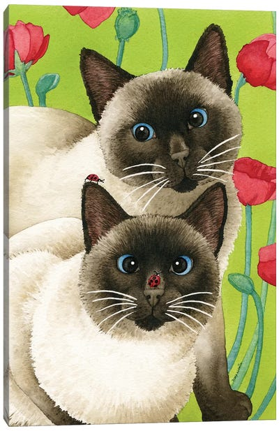 Seeing Two Canvas Art Print