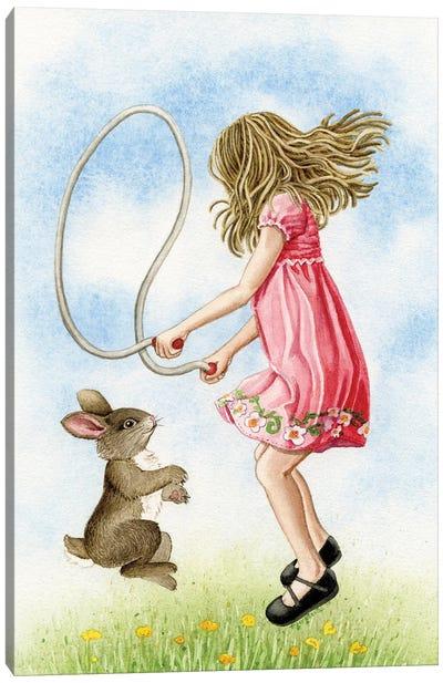 Jumping Rope Canvas Art Print