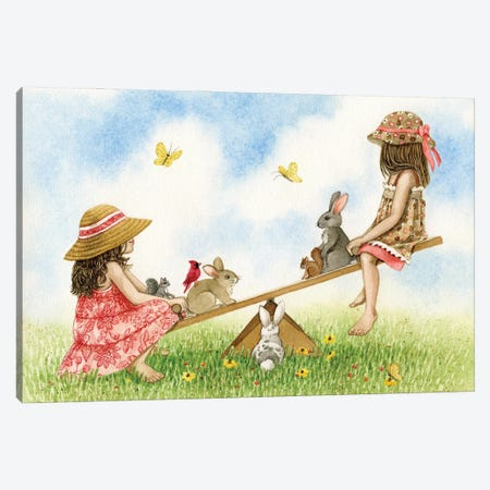 SeeSaw Canvas Print #TLZ99} by Tracy Lizotte Canvas Art