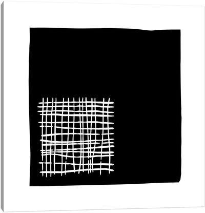 Black+White Gallery Wall IV Canvas Art Print