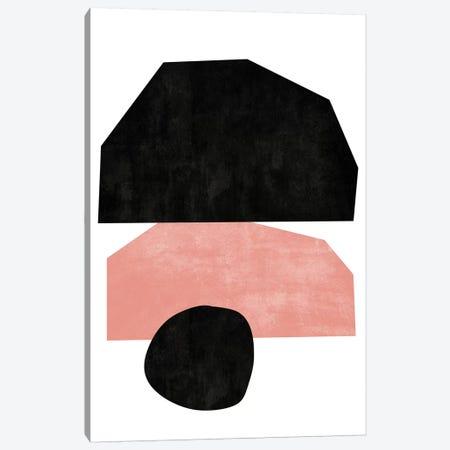 Cutout Blocks I Canvas Print #TMD17} by The Maisey Design Shop Canvas Artwork