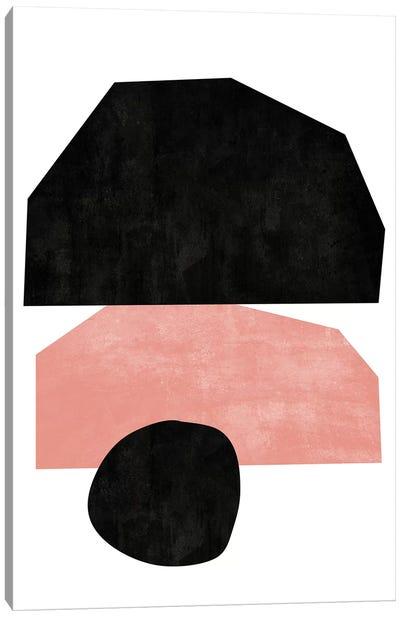 Cutout Blocks I Canvas Art Print