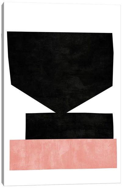 Cutout Blocks III Canvas Art Print
