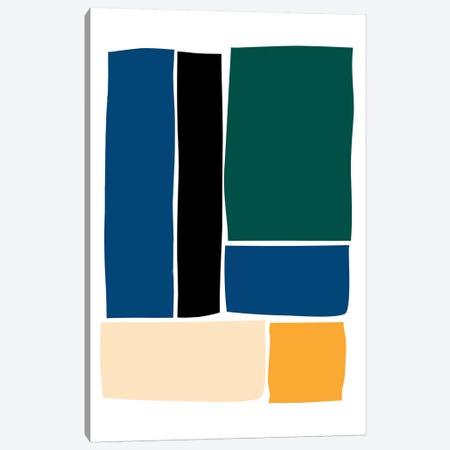 Simple Cutouts Canvas Print #TMD21} by The Maisey Design Shop Canvas Art