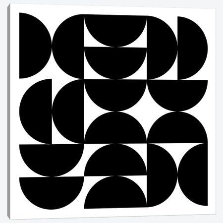 Half Circles I Canvas Print #TMD24} by The Maisey Design Shop Canvas Print