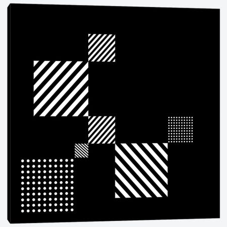 Black+White Gallery Wall II Canvas Print #TMD25} by The Maisey Design Shop Art Print