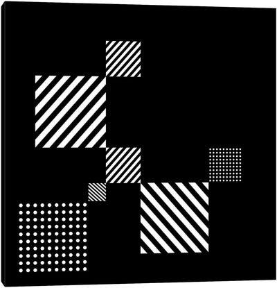 Black+White Gallery Wall II Canvas Art Print