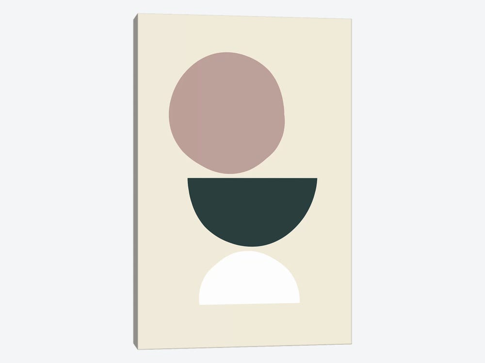 Mid-Century Shapes I by The Maisey Design Shop 1-piece Art Print