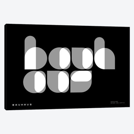 Bauhaus I Canvas Print #TMD3} by The Maisey Design Shop Canvas Wall Art