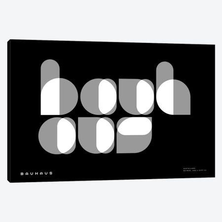 Bauhaus I Canvas Print #TMD3} by The Maisey Design Shop Canvas Wall Art