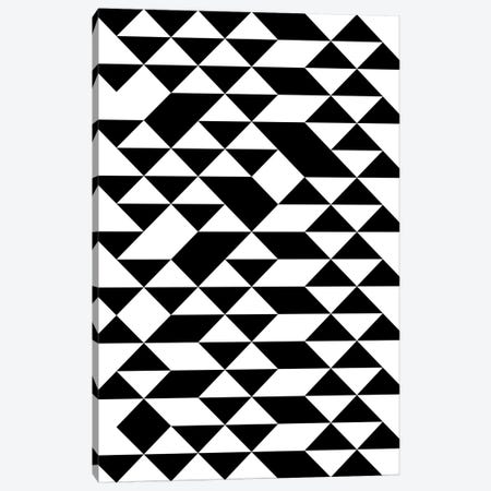 Triangle Pattern Canvas Print #TMD51} by The Maisey Design Shop Art Print